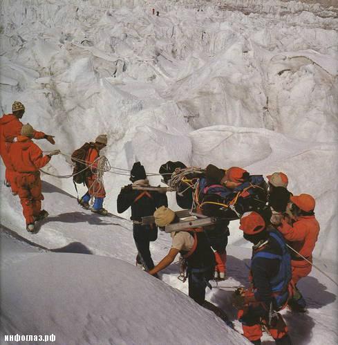Кладбище на Эвересте (не рекомендуется просмотр впечатлительным)