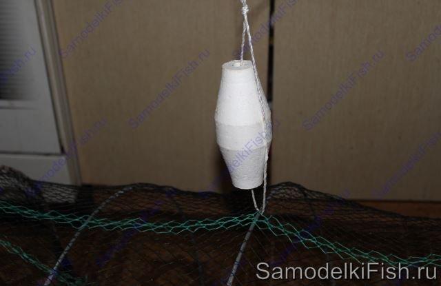 Самодельная ловушка - креветочница