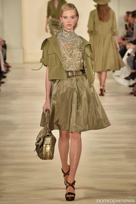 Ralph Lauren. Весна - лето 2015: изящные, элегантные и женственные наряды в стиле сафари