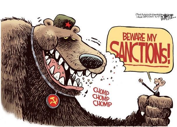 Санкции и рождение Новой России