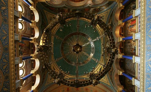 Самые шедевральные потолки и купола храмов со всего мира