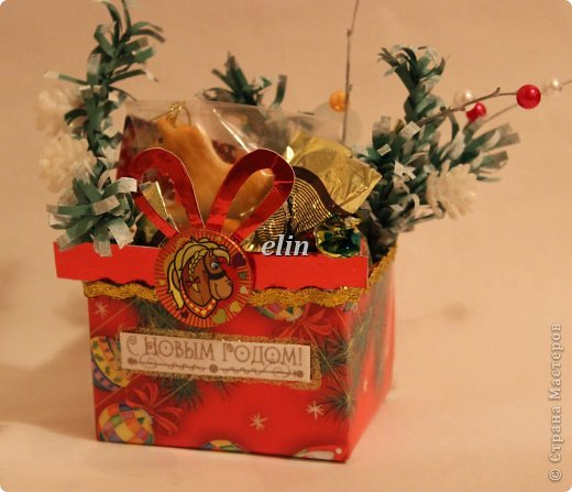 Мастер-класс Свит-дизайн Упаковка Новый год Разные сладкие работы Бумага Материал оберточный Проволока Продукты пищевые фото 12