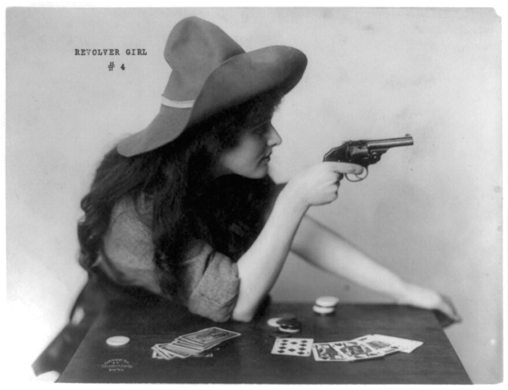 Женское оружие разных эпох
