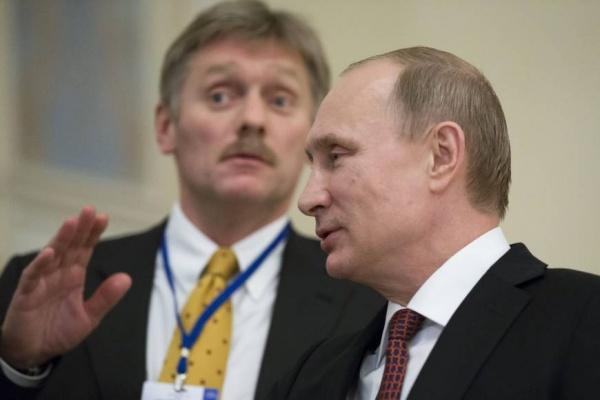 Песков: ВКремле необсуждается предвыборная кампания
