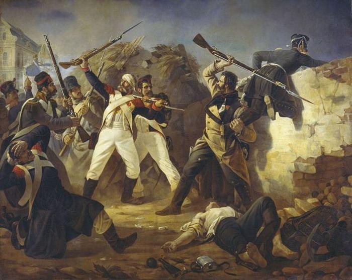 Подвиг солдата Леонтия Коренного. Война против Наполеона.