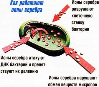 Лечение серебрянной водой тампоны анально
