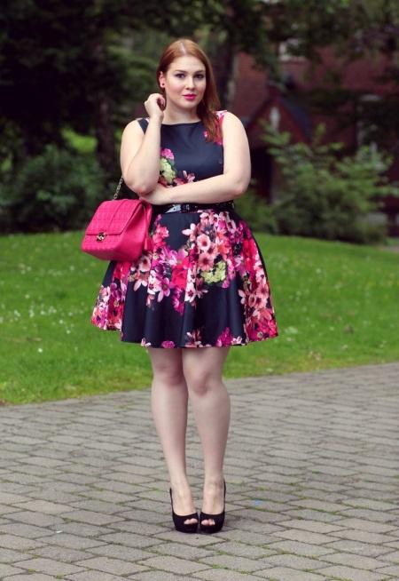 Модные фасоны платьев для полных женщин фото
