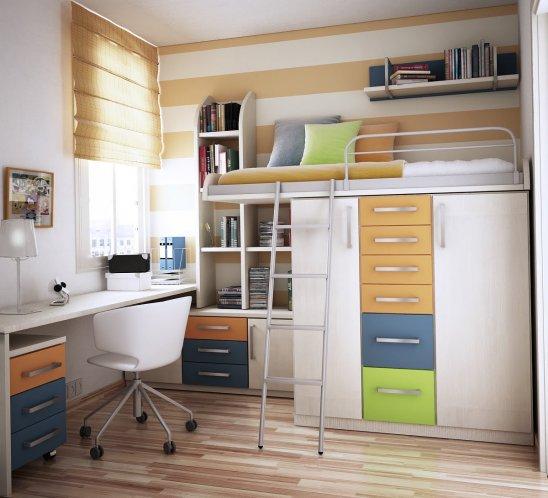 Фото как обустроить маленькую комнату