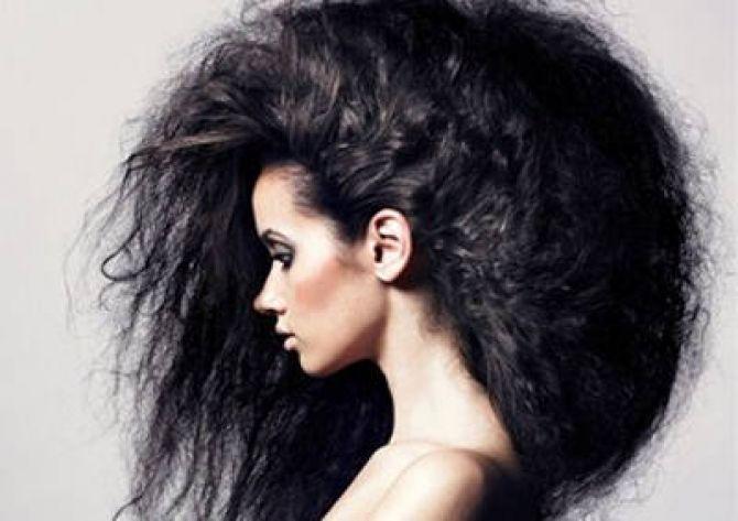 Как сделать объем на волосах в домашних условиях без фена