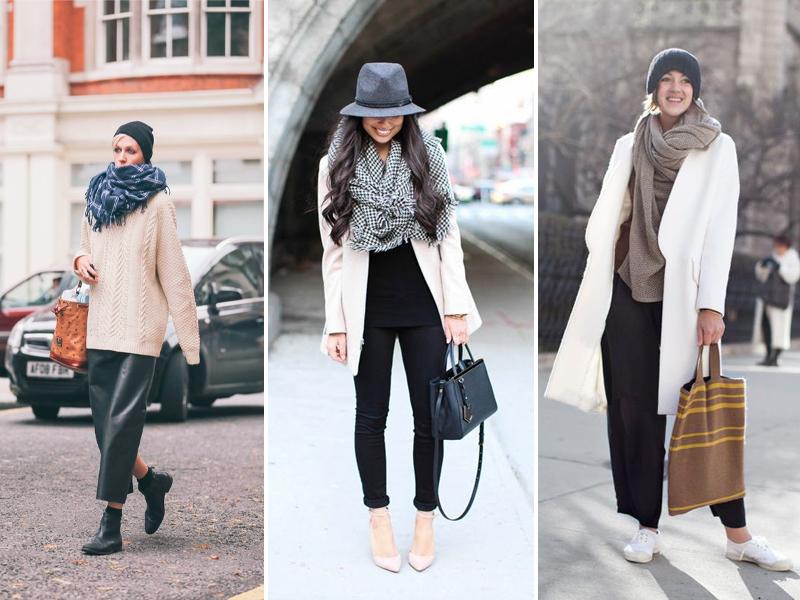Спелись: как подобрать идеальное зимнее трио из шапки, шарфа и перчаток