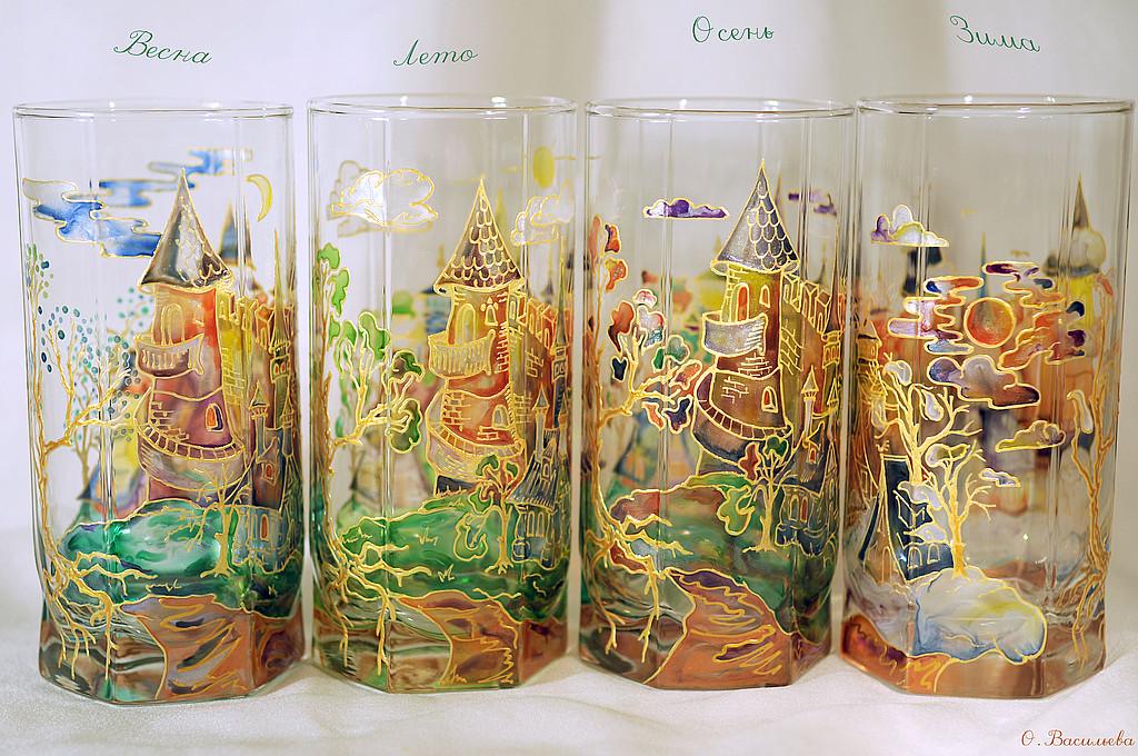 Своими руками для росписи стекла фото