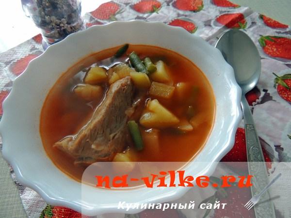 Супы из свинины рецепт с фото в домашних условиях 261