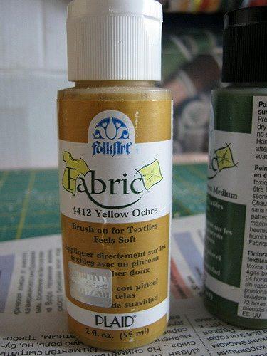краска для печати по ткани которую я использовала