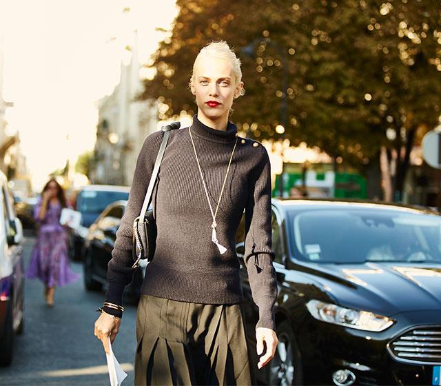 Неделя моды в Париже, весна-лето 2016: street style. Часть 1 (фото 2)