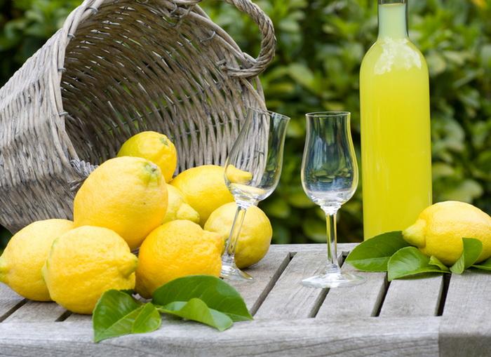 Домашний лимончелло - рецепт лимонного ликера
