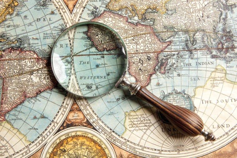 11 мест на Земле, которые еще не нанесены на карту