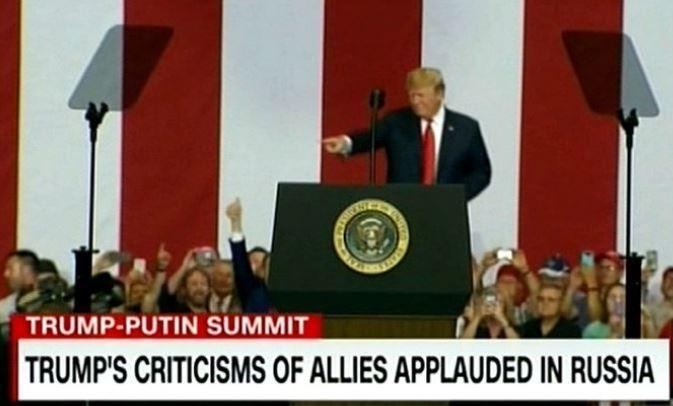 CNN: российские СМИ хвалят Т…