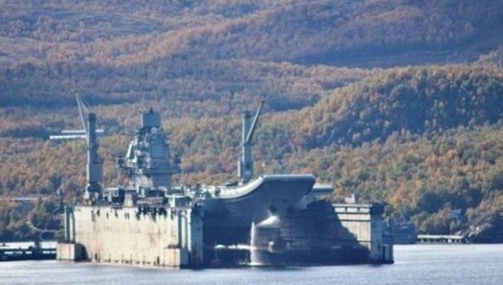 В Мурманске затонул плавдок ПД-50