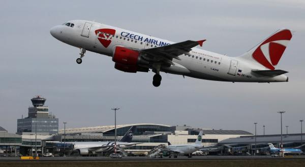 Самолет Czech Airlines экстренно приземлился из-за отказа двигателя