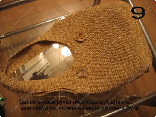 Мастер-класс Вязание крючком: Вяжем вместе: Сумка крючком  Пряжа. Фото 11
