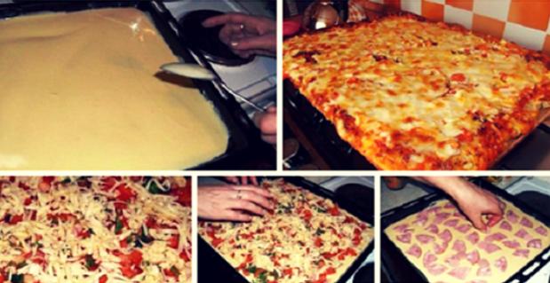 Всегда я пеку пиццу по этому…