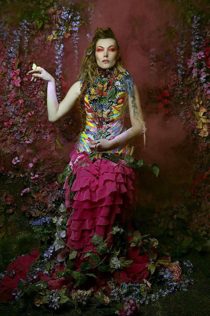 Фотопрект «Таинственный сад». Потрясающие сюрреалистические портреты фотографа Даниэлы Мэджик - 15