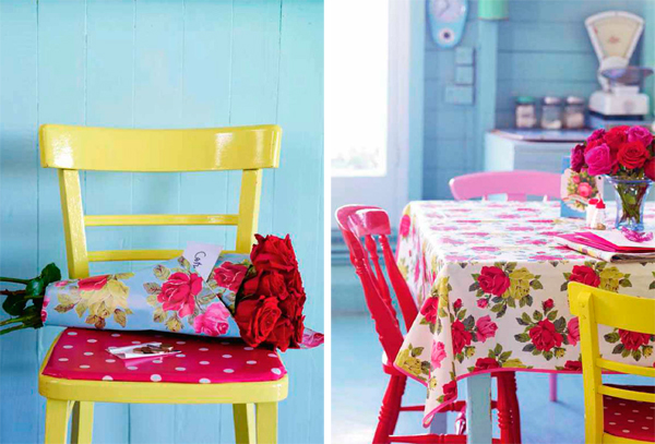Идеи декора: модный цветочный принт в доме!