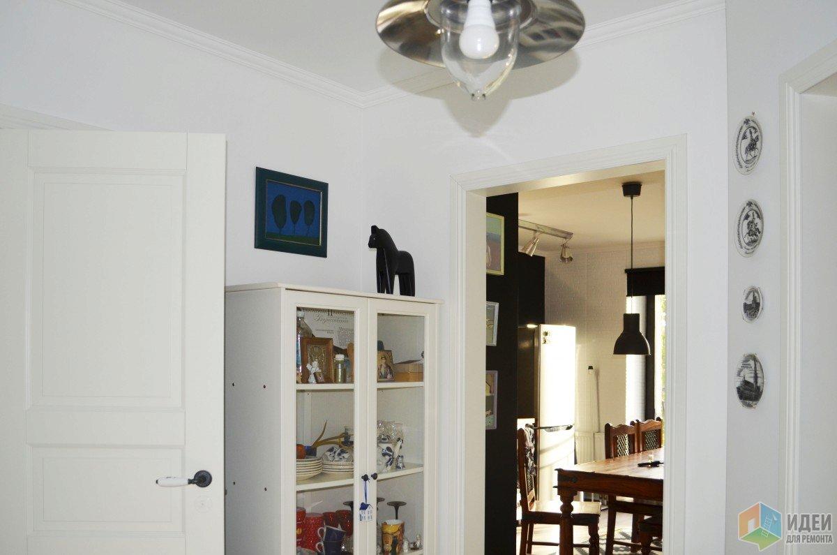 Дизайн коридора, фото белой прихожей