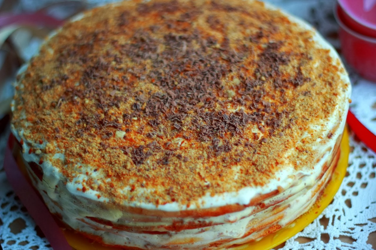 Рецепты тортов на сметане с пошагово в домашних условиях
