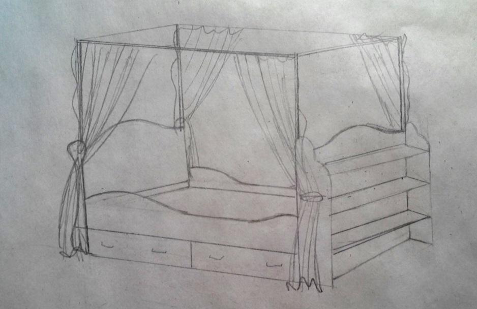 Кровать своими руками кровать, сделай сам