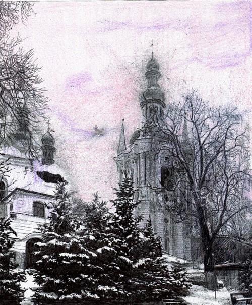 рисунки карандашом Maria Zeldis -2-06