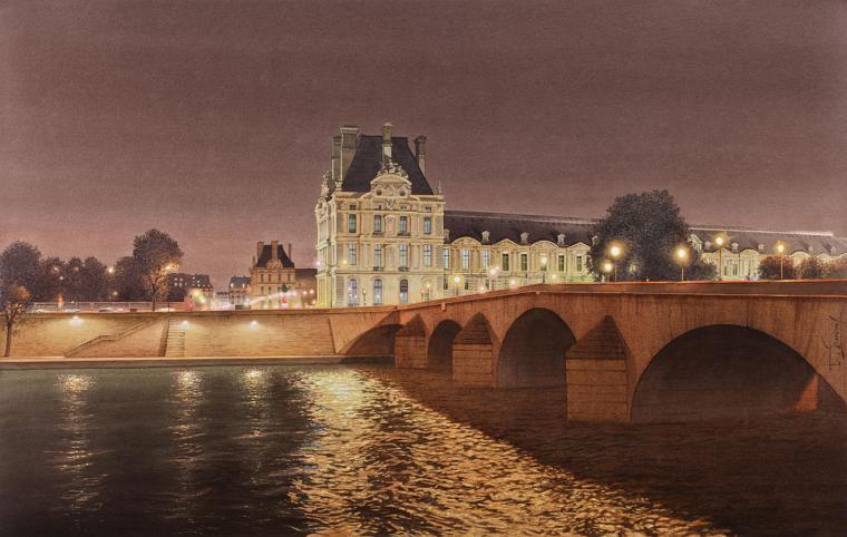Акварели французского реалиста Thierry Duval