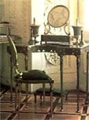 Металлическая мебель тульской работы- мебель царей и придворных