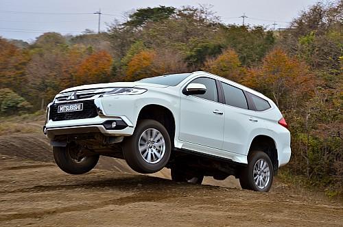 Первый тест-драйв нового Mitsubishi Pajero Sport: настоящий «проходимец»!