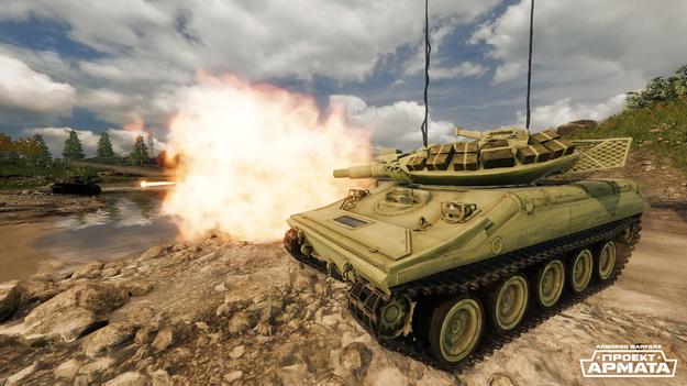 Стартовало открытое бета-тестирование игры «Armored Warfare: Проект Армата»