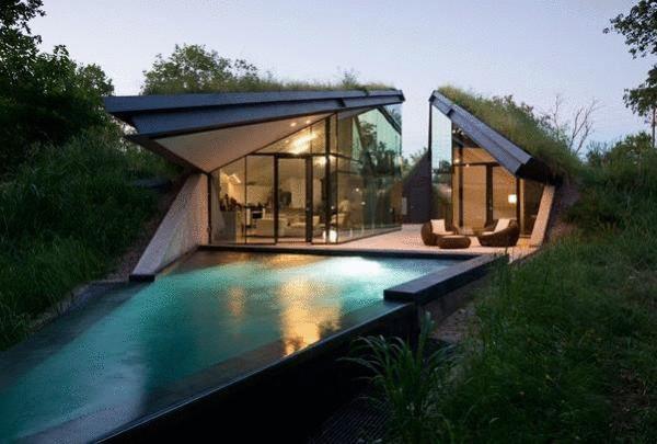 Стеклянный дом в Техасе
