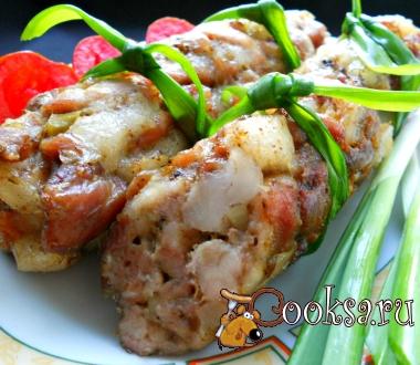 Домашние колбаски (без кишок)