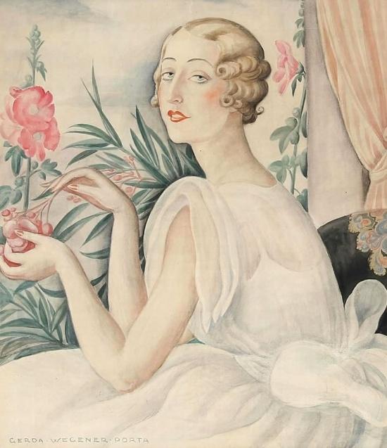 художник Герда Вегенер (Gerda Wegener) картины – 12