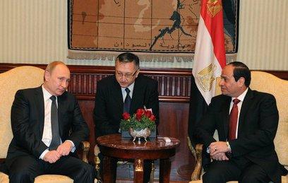 Путин и ас-Сиси обсудили возобновление полетов в Египет