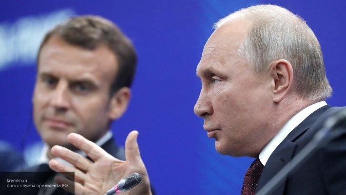 Путин рассказал о восстановлении механизмов сотрудничества России и Франции