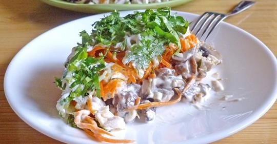Вкус этого салата приводит в настоящий восторг
