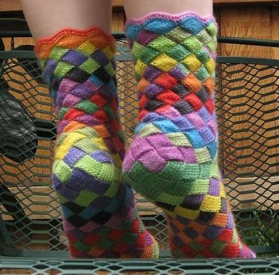 Фантастические носочки! (спицы)