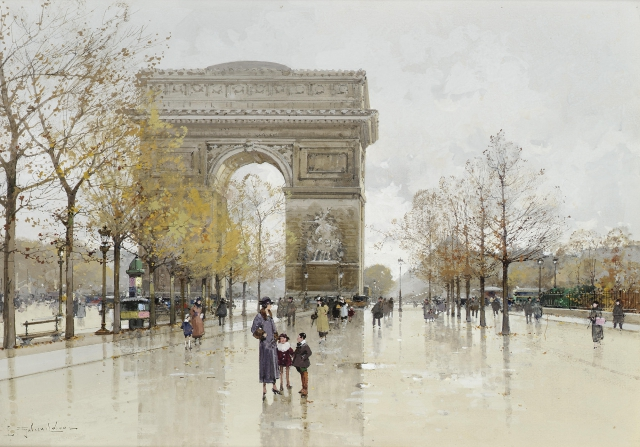 Прогулка по старому Парижу