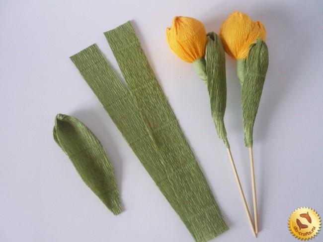 Шаблоны тюльпанов из конфет своими руками 39