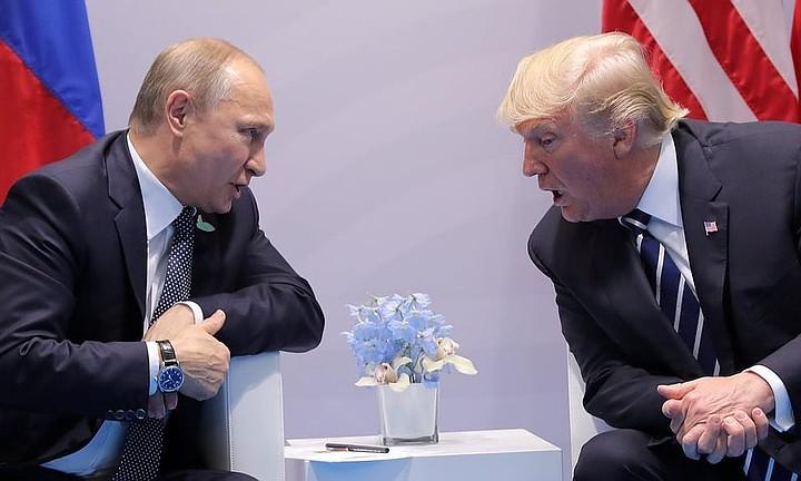 Путин предложил Трампу провести референдум в Донбассе