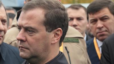 Дмитрий Медведев потерял статус политика номер два на российском ТВ