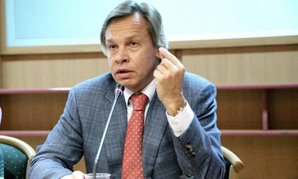 Алексей Пушков - Киев разрушал города Донбасса, а теперь требует деньги с России