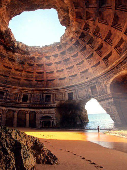 3. Живописные руины храма в Греции: интернет-обман на скорую руку интернет, фейк