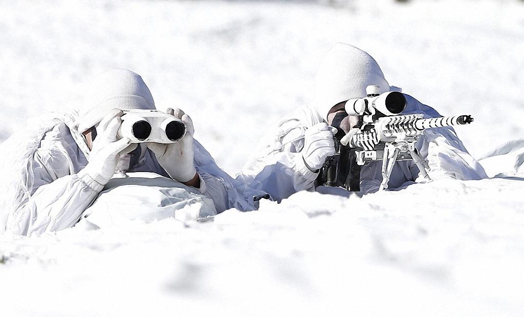 Зимние учения южнокорейского спецназа-9