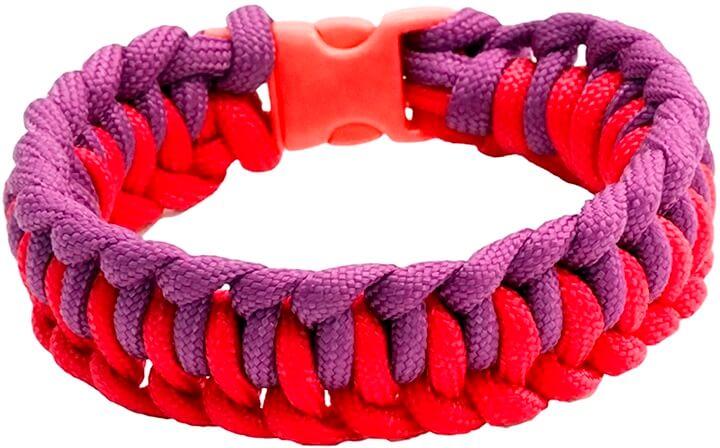 Паракорд: плетение браслетов